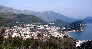 English: Category:PetrovacPetrovac in Adriatic...